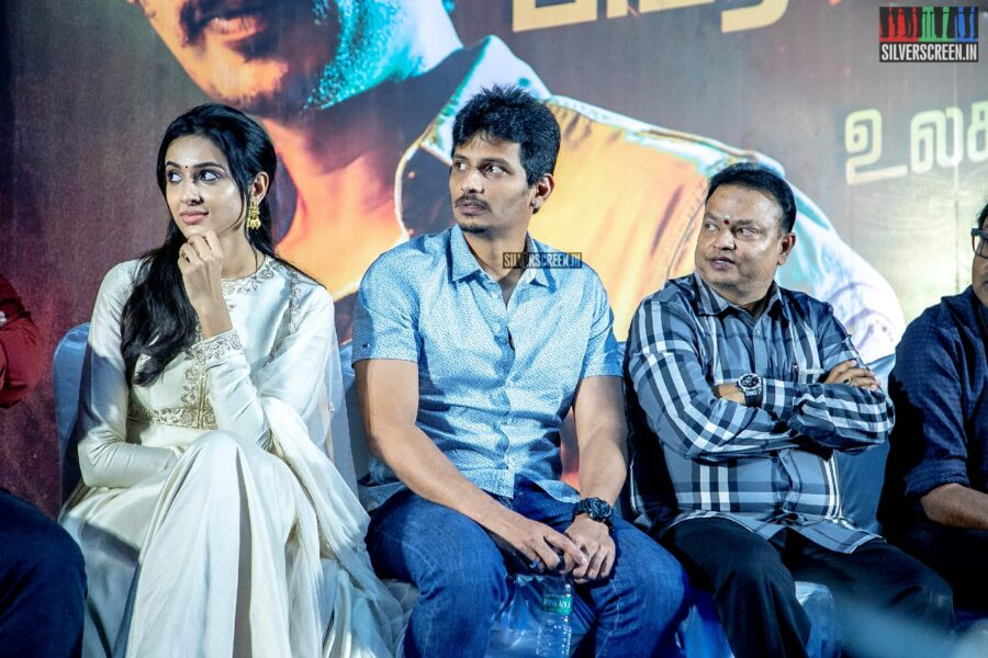 Jiiva and Riya Suman At The 'Seeru' Press Meet