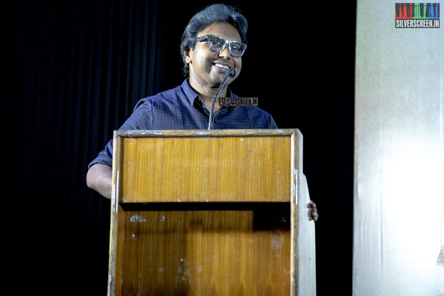 D Imman At The 'Seeru' Press Meet