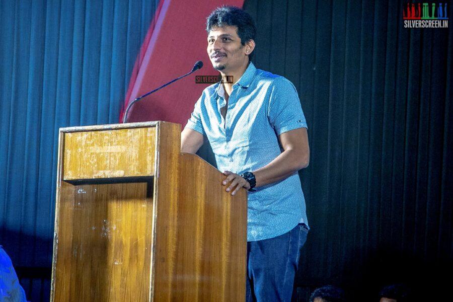 Jiiva At The 'Seeru' Press Meet
