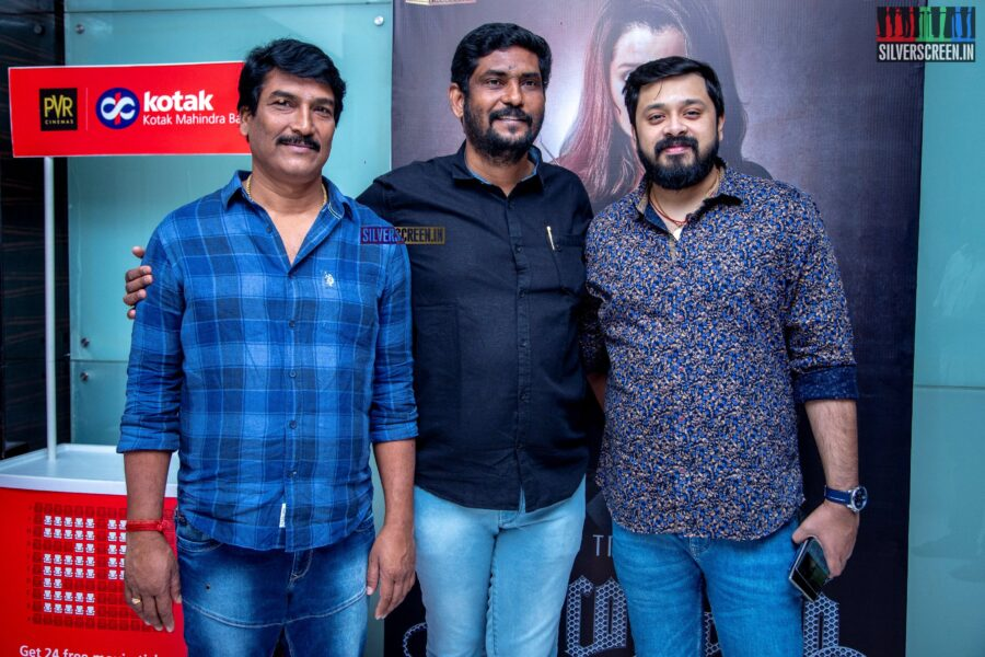 Suresh Kamatchi At The 'Paramapadham Vilayattu' Press Meet