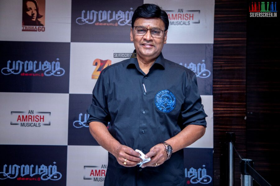 K Bhagyaraj At The 'Paramapadham Vilayattu' Press Meet