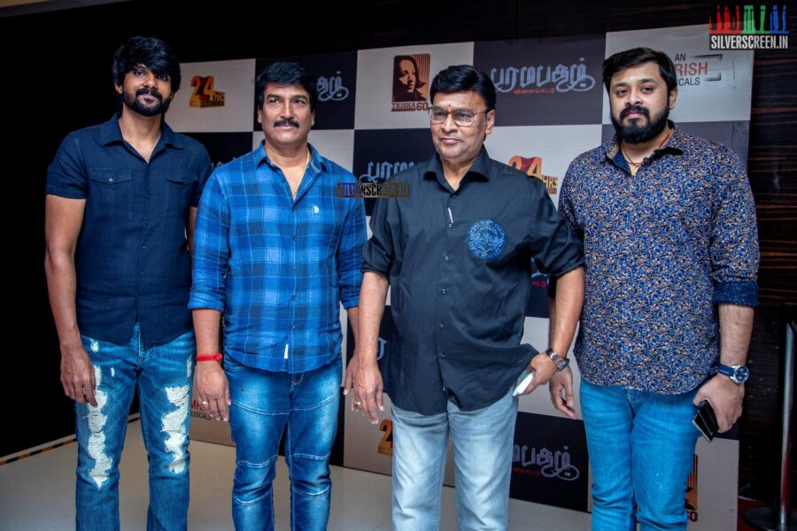 Dileepan and K Bhagyaraj At The 'Paramapadham Vilayattu' Press Meet