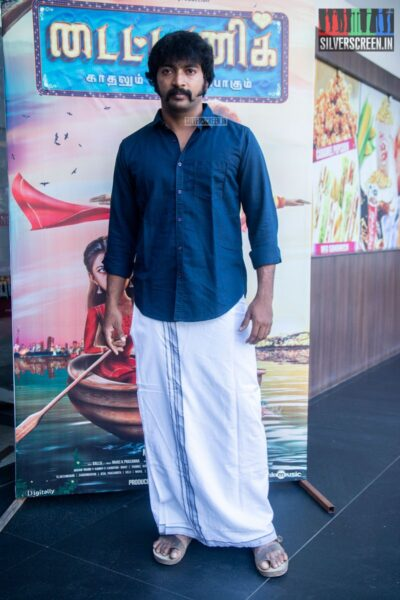 Kalaiarasan At The 'Titanic' Audio Launch