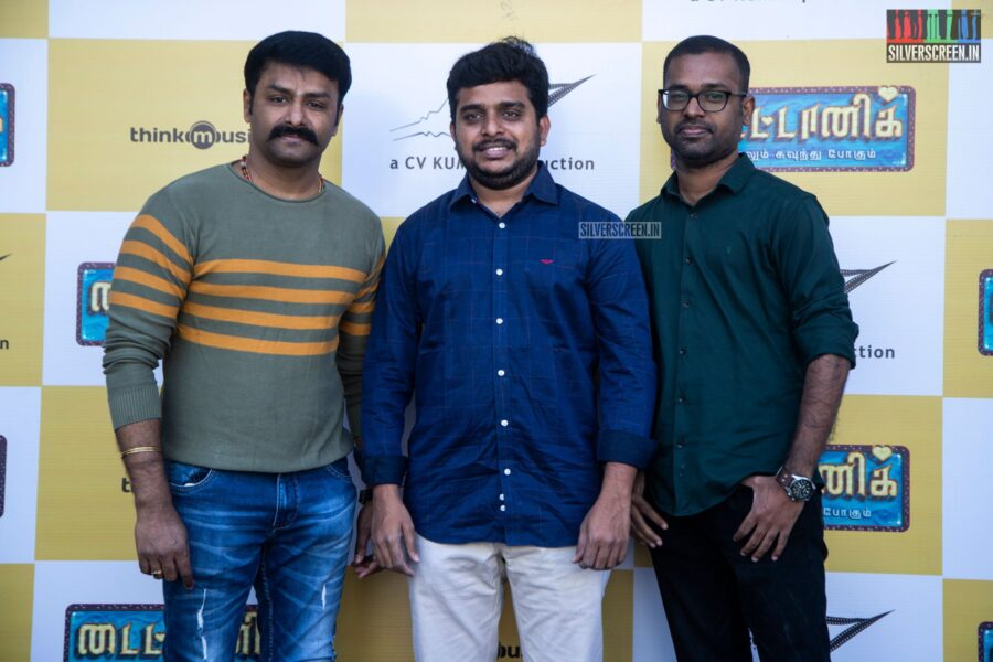 Celebrities At The 'Titanic' Audio Launch