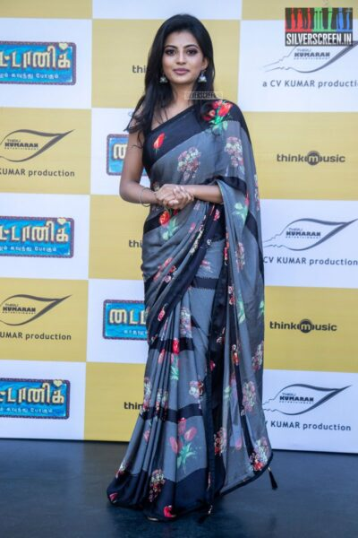 Anandhi At The 'Titanic' Audio Launch