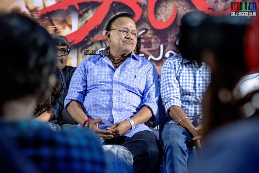 Radha Ravi At The 'Galtha' Press Meet