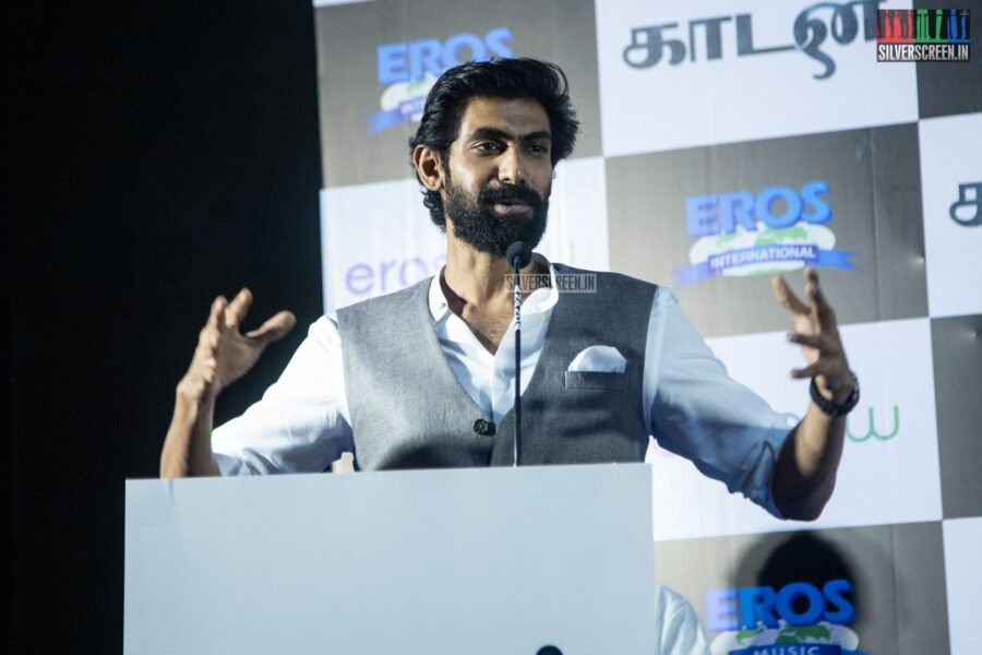 Rana Daggubati At The 'Kaadan' Press Meet
