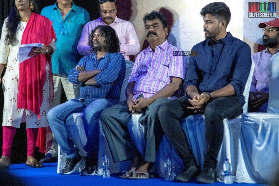 Stunt Silva at the Sangathalaivan Audio Launch