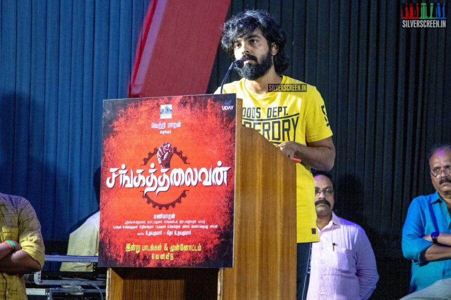 GV Prakash Kumar at the Sangathalaivan Audio Launch