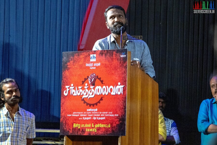 Vetrimaaran at the Sangathalaivan Audio Launch
