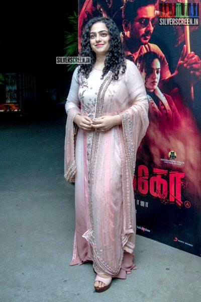 Nithya Menen At The 'Psycho' Success Meet