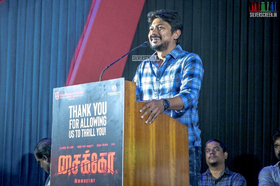 Udhayanidhi Stalin At The 'Psycho' Success Meet