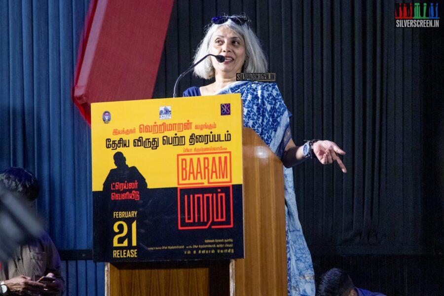 Celebrities At The 'Baaram' Press Meet