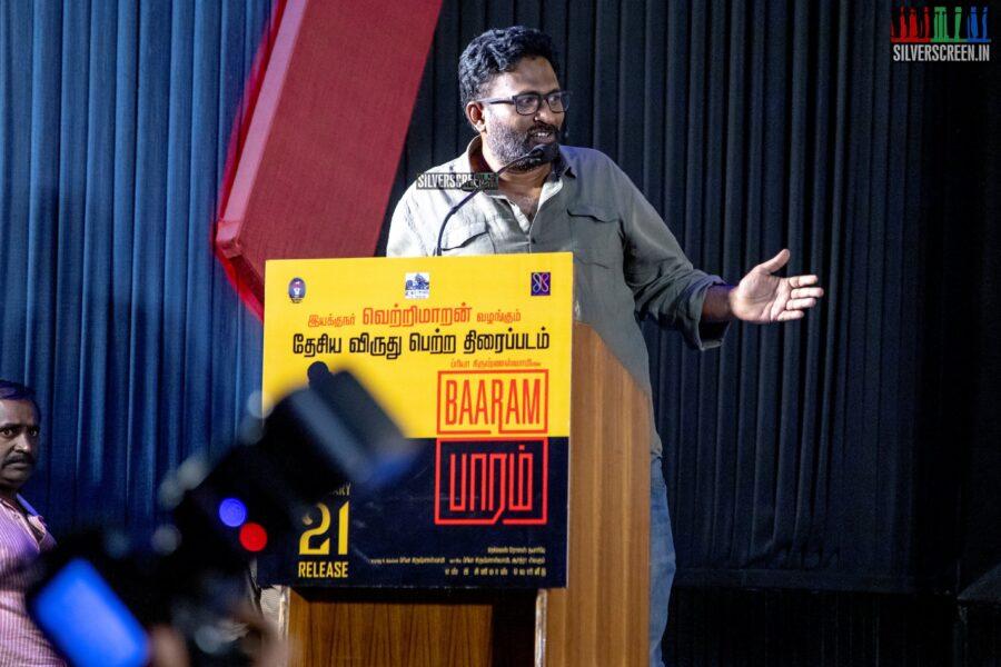Ram At The 'Baaram' Press Meet