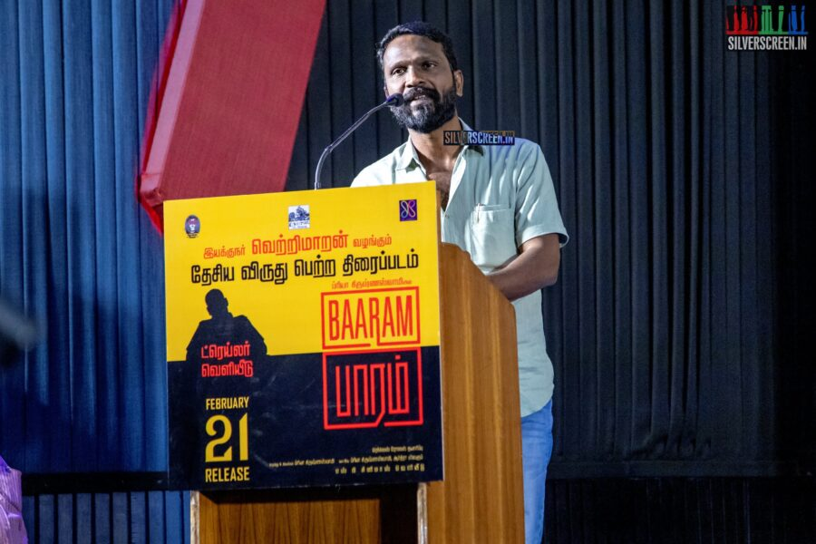 Vetrimaaran At The 'Baaram' Press Meet