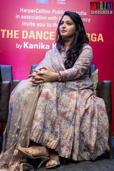 Anushka Shetty at Kanika Dhillon's The Dance of Durga Book Launch