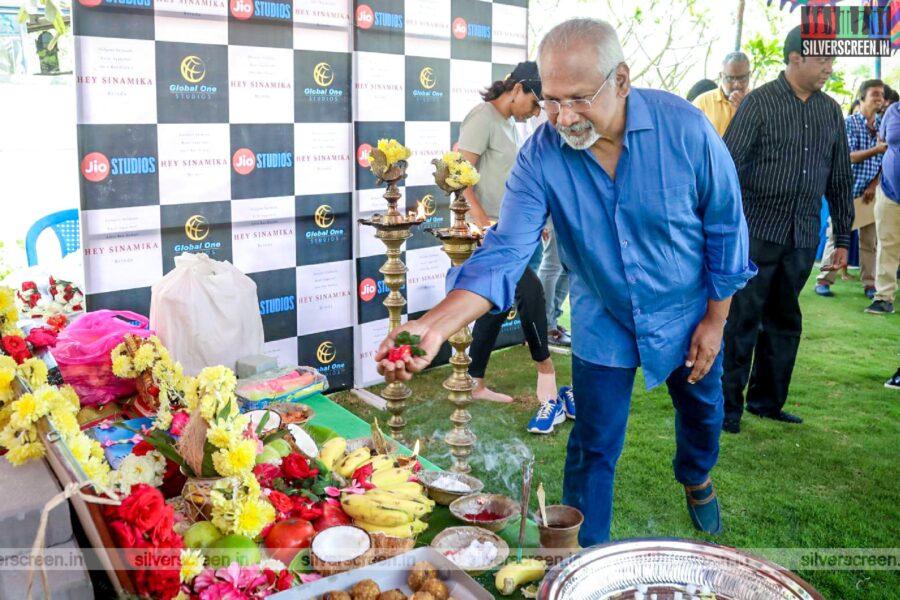 Mani Ratnam At The 'Hey Sinamika' Movie Launch