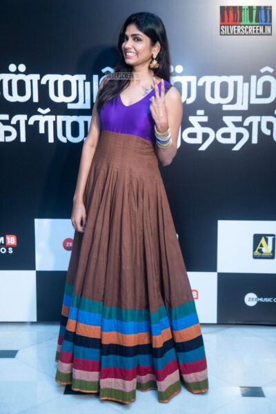 Niranjini Ahathian At The 'Kannum Kannum Kollaiyadithaal' Success Meet