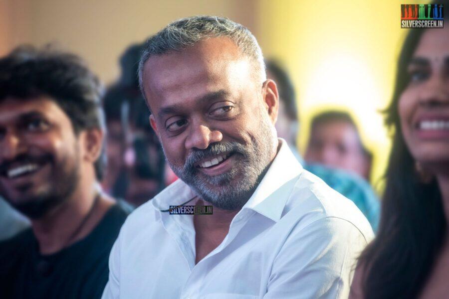 Gautham Menon At The 'Kannum Kannum Kollaiyadithaal' Success Meet