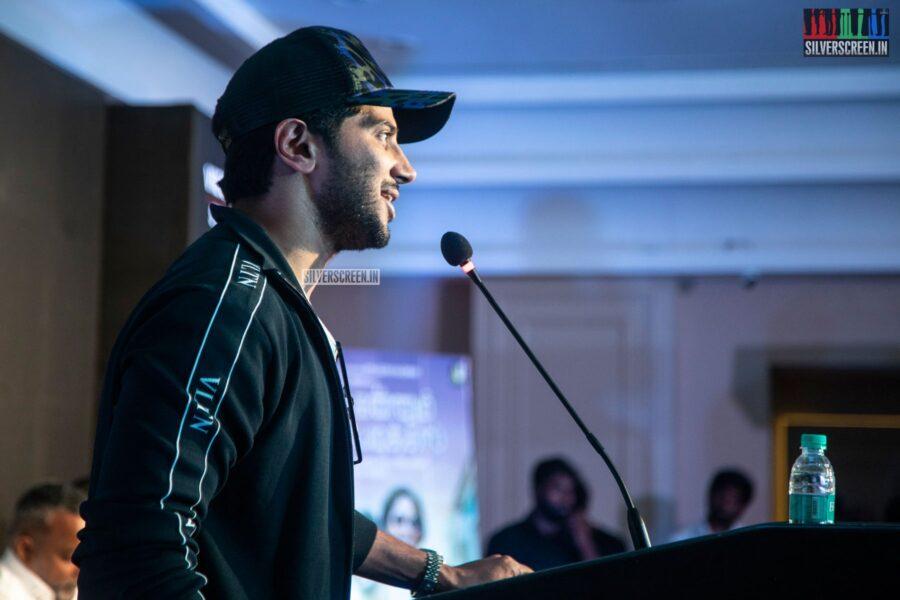 Dulquer Salmaan At The 'Kannum Kannum Kollaiyadithaal' Success Meet