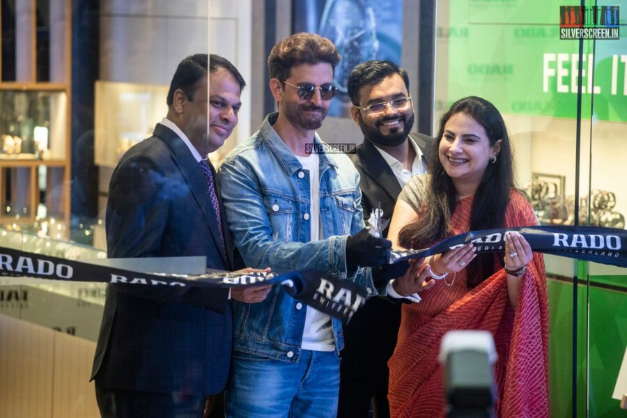 Hrithik Roshan At The Launch Of 'Rado True Square' In Chennai