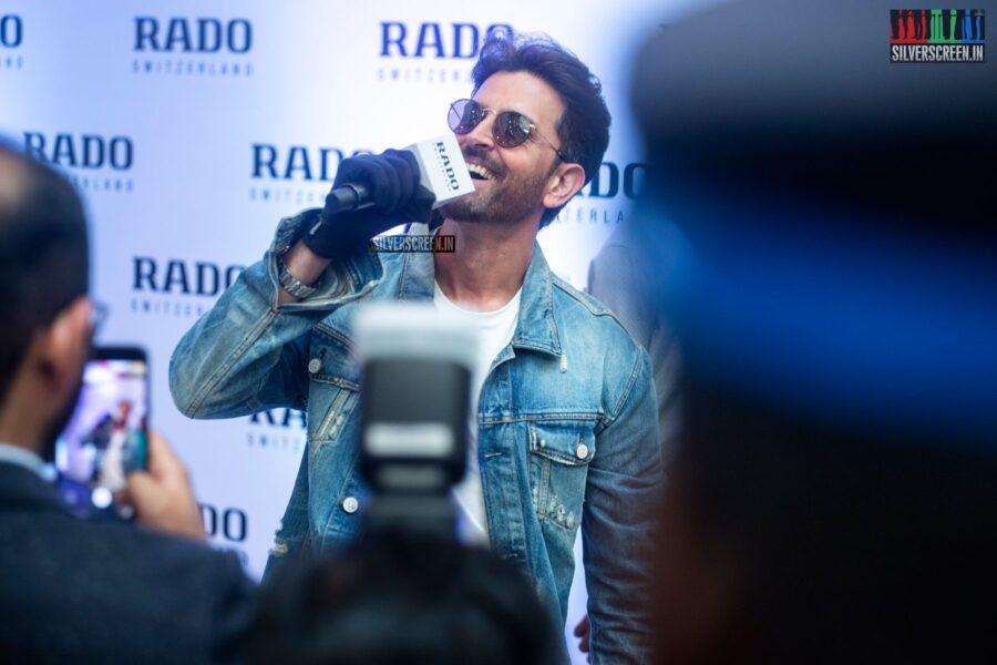 Hrithik Roshan At The Launch Of 'Rado True Square' In Chennai