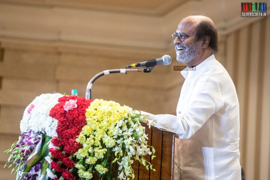 'I don't want to be CM': Photos From The Rajinikanth Press Meet