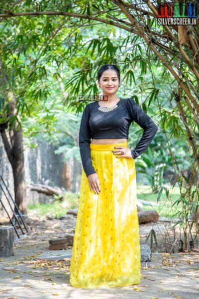 Kannika Ravi At The 'Rajavamsam' Audio Launch