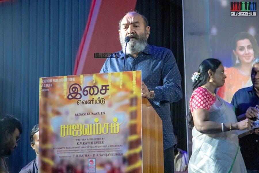 Vijayakumar At The 'Rajavamsam' Audio Launch