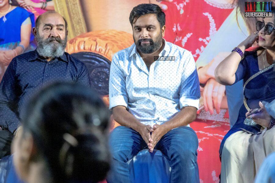 M Sasikumar At The 'Rajavamsam' Audio Launch