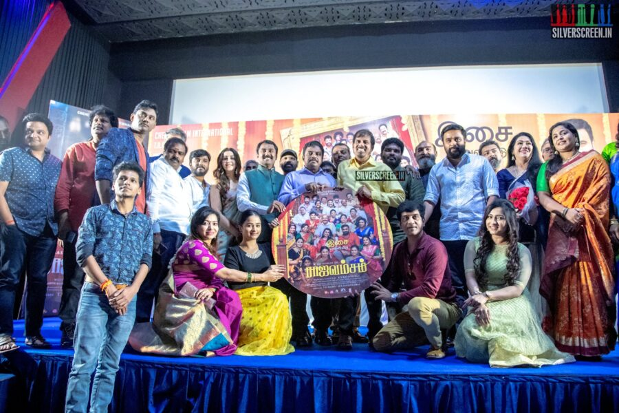 Celebrities At The 'Rajavamsam' Audio Launch