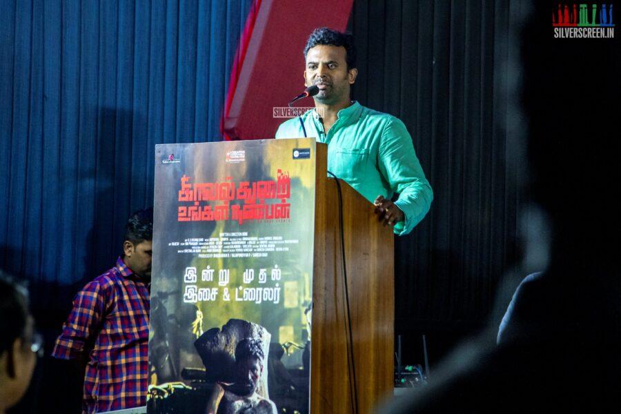 Celebrities At The 'Kavalthurai Ungal Nanbann' Audio Launch