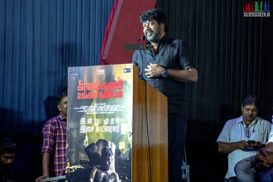 Mime Gopi At The 'Kavalthurai Ungal Nanbann' Audio Launch