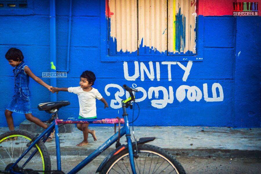 Photos From Chennai's Art District - Kannagi Nagar