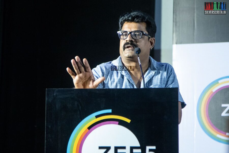 Bose Venkat At The 'Kannamoochi' Press Meet