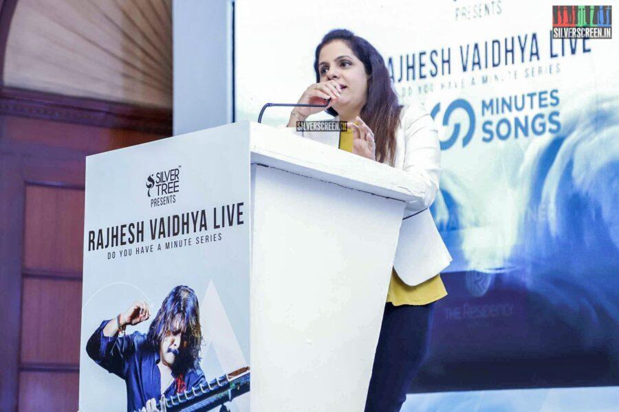 Rajesh Vaidhya At '100 Minutes 100 Songs' Press Meet