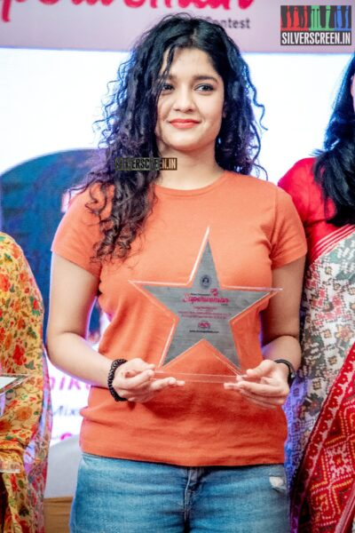 Ritika Singh at Dindugul Thalapakatti's Superwoman Awards