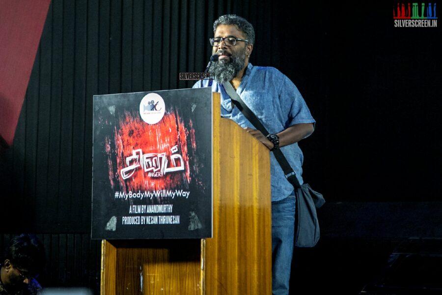 Sai Dhanshika At The 'Sinam' Press Meet