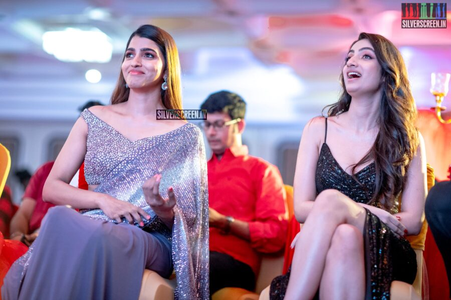 Sai Dhanshika, Sherlin Seth At The Launch Of 'Chronicle Of Weddings 2020 Calendar'