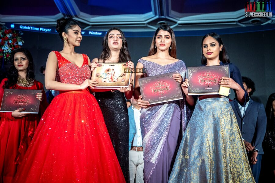 Sanam Shetty, Sherlin Seth, Sai Dhanshika And Nandita Swetha At The Launch Of 'Chronicle Of Weddings 2020 Calendar'