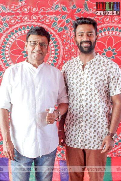 K Bhagyaraj, Shanthanu At The Libra Productions Movie Launch
