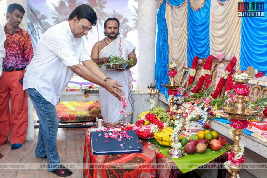 K Bhagyaraj At The Libra Productions Movie Launch