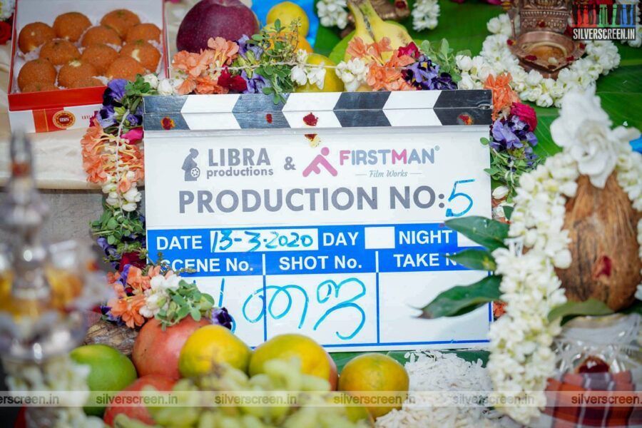 Celebrities At The Libra Productions Movie Launch