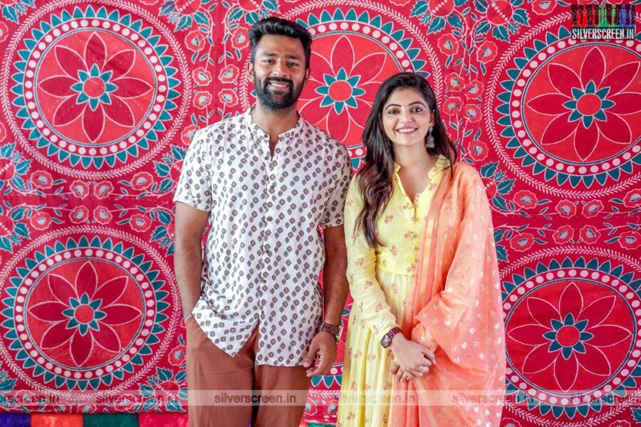 Shanthanu, Athulya Ravi At The Libra Productions Movie Launch