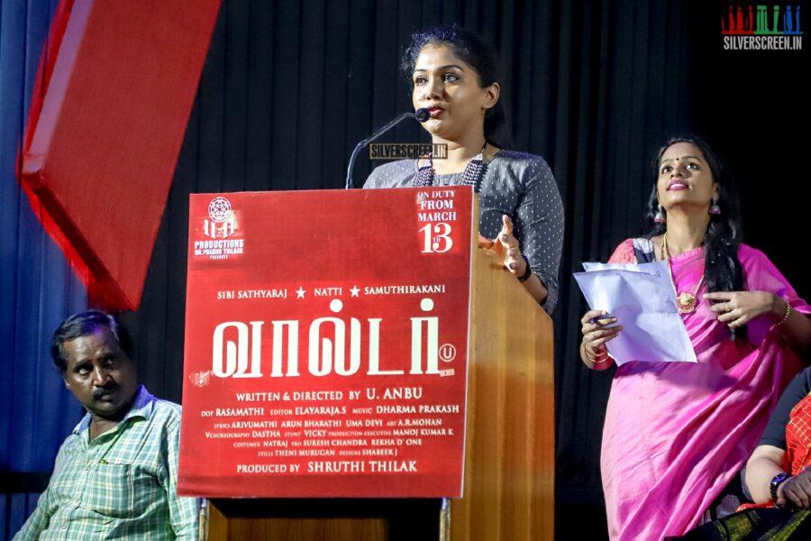 Riythvika At The 'Walter' Press Meet