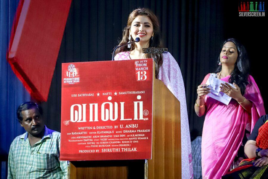 Shirin Kanchwala At The 'Walter' Press Meet
