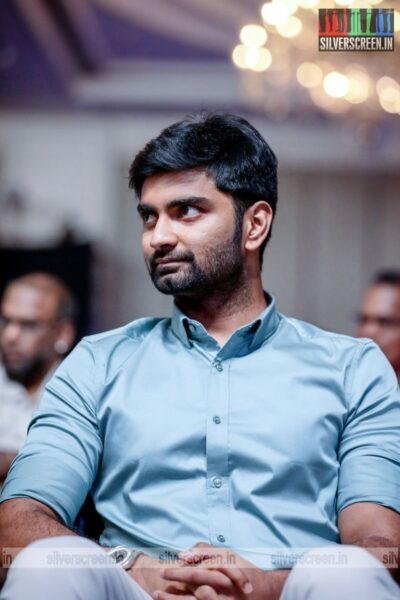Atharvaa At The 'Master' Audio Launch