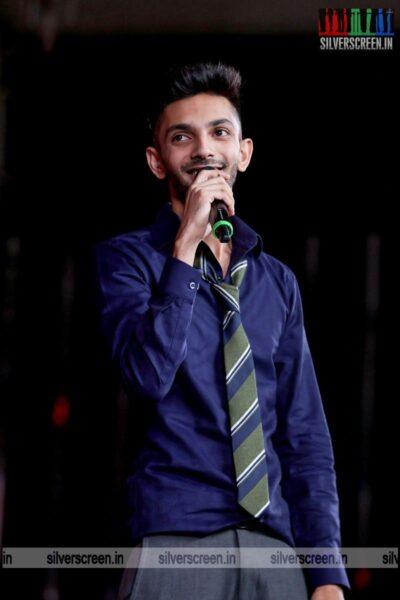 Anirudh Ravichander At The 'Master' Audio Launch