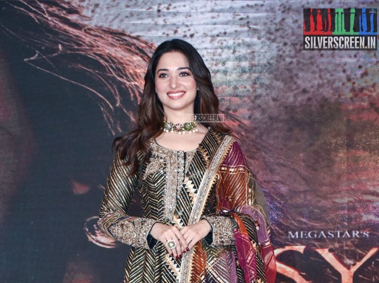 Tamannaah At The 'Sye Raa Narasimha Reddy' Teaser Launch