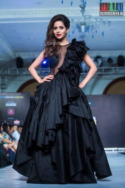 Raiza Wilson Walks The Ramp At The 9th Edition of Chennai International Fashion Week 2019 - Day 2